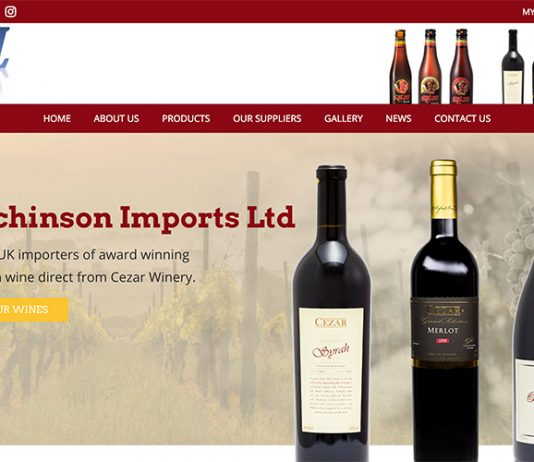 HUTCHINSON IMPORTS ANNOUNCE LAUNCH OF NEW WEBSITE FOR CUSTOMER PURCHASING