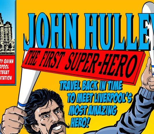 John Hulley The first Super-Hero